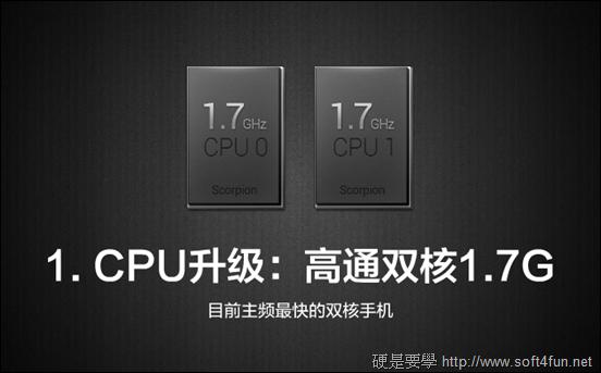 超高 CP 值!高階規格 小米手機 1S 及 2 閃亮登場! 1s_CPU