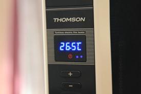 電膜電暖器 THOMSON SA-W02F 開箱評測與心得,寒流取暖必備 thomson19