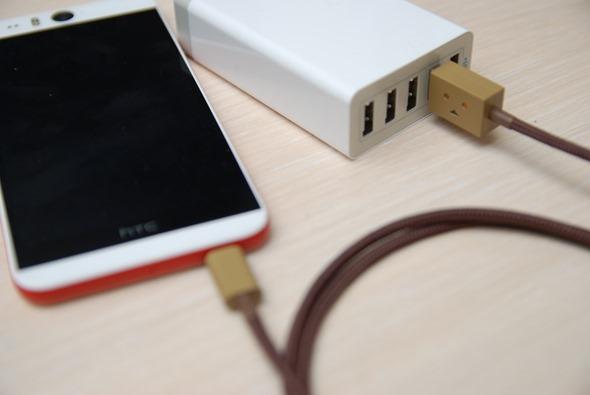 超療癒!Cheero 阿愣 micro USB 充電線,眼睛會發亮耶! DSC_0055
