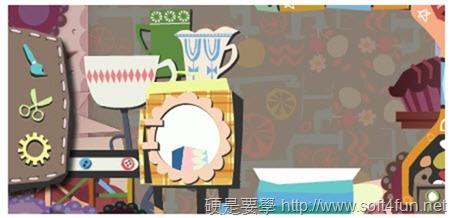 [Google Doodle] 母親節快樂!動手做禮物送給媽媽吧! 3