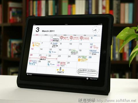 [iPad] 任意塗鴉隨你畫的手繪行事曆 - MemoCal memocal_1