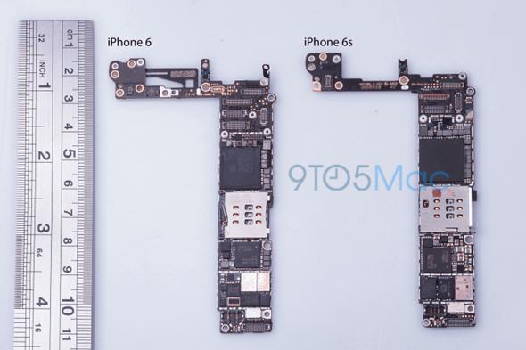 iPhone 6S 進一步消息曝光,NFC、儲存空間、電路板組件 9to56sboard