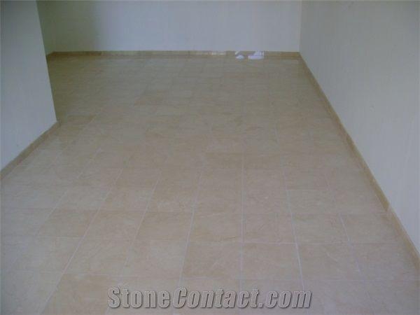 crema marfil marble floor tile 30x30