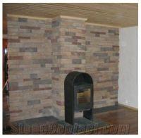 Sandstone Masonry Fireplace,Chimney, Indoor from Norway ...