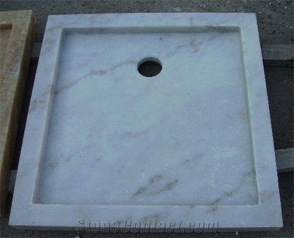 White Stone Shower Tray from China  StoneContactcom
