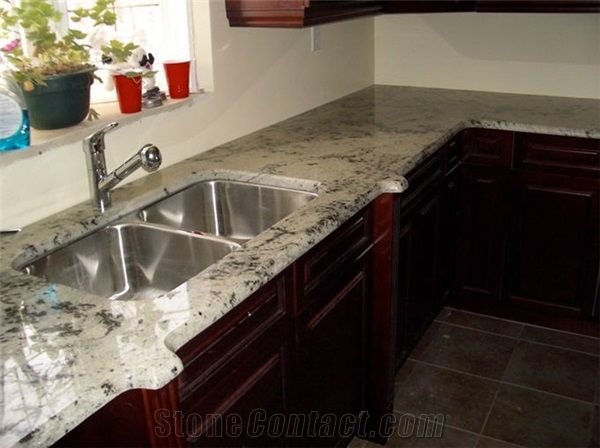 Luna Pearl Granite Countertop from Canada  StoneContactcom