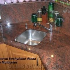 Marble Top Kitchen Table Kemper Cabinets Multicolor Red Granite Countertop From Czech ...