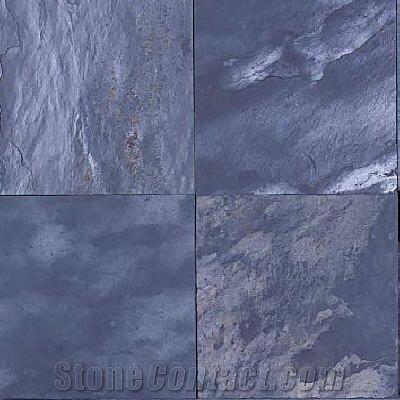 silver blue slate slabs tiles south