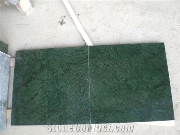 indian dark green marble floor tiles