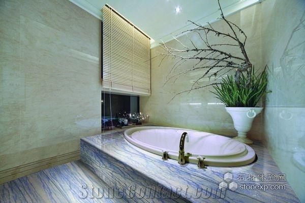 Azul Macauba Bath Design Azul Macaubas Blue Quartzite