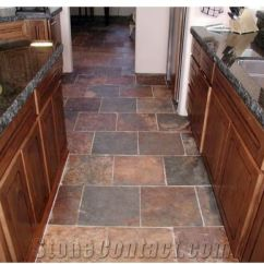 Slate Kitchen Floor Hanging Lights For Island Wild Fire From United States Stonecontact Com