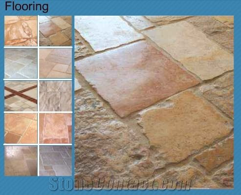jerusalem stone antiquated floor tiles