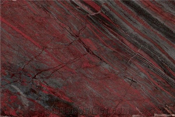 Iron Red Granite Tile From China Stonecontact Com