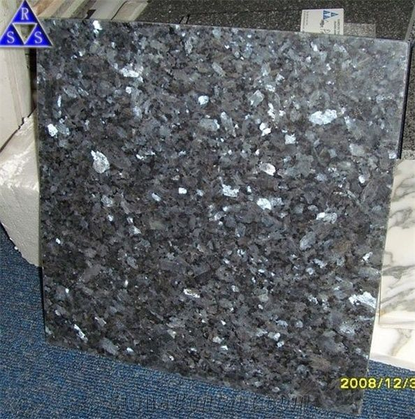 blue pearl granite tile from china