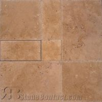 Cappuccino Versailles Pattern Polished Travertine from ...