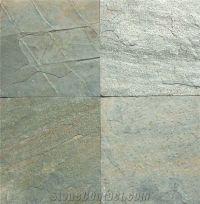 Zeera Green Slate Tiles, India Green Slate