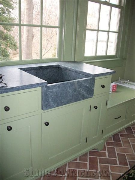 Green Soapstone Countertop from United States155006