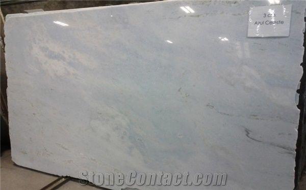azul celeste marble slab argentina