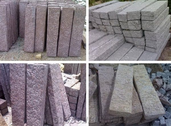 kerbs curb stone landscaping