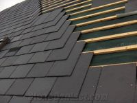 Roofing Tile, Black Roofing Slate Tile from China ...