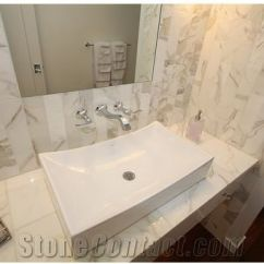 Kitchen Contractor Electronic Scale Calacatta Gold Marble Bathroom Top, Wall Tiles, ...