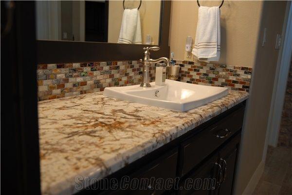 Delicatus Gold Granite Bathroom Vanities Vanity Counter Tops Delicatus Gold Yellow Granite Vanities From United Arab Emirates Stonecontact Com