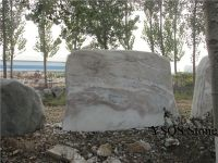 Decorative Marble Landscaping Garden Stone, White Marble ...