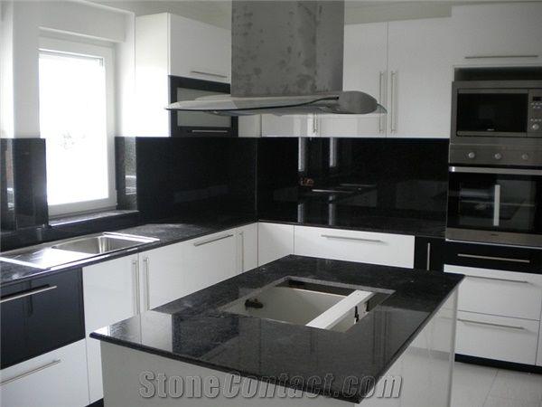 Absolute Black Granite Countertop from Macedonia209178