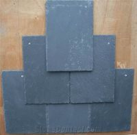 Black Slate Roof Tile from China-220992 - StoneContact.com