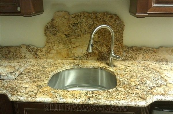 Solarius Granite Kitchen Countertops Solarius Yellow