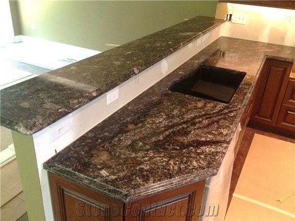 Black Fusion Granite Countertop from United States