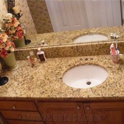 Kitchen Cabinets Online Wholesale Wooden Chairs For Giallo Santa Cecilia Granite Bathroom Top From United ...