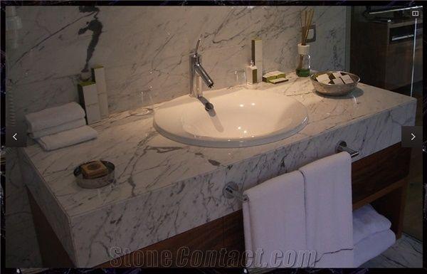 Turkey Calacatta Marble Bathroom Vanity Top Stonecontact Com