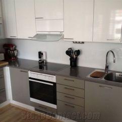 Grey Kitchen Countertops Decorative Molding Cabinets Technistone Gobi From Estonia