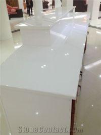 Pure White Granite Countertops
