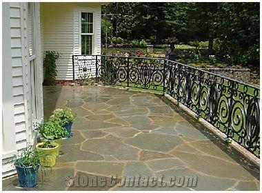 alba sandstone irregular flagstone