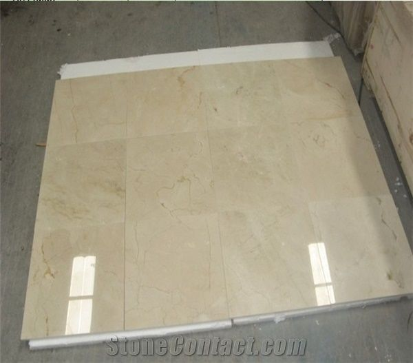 crema marfil marble tile from china