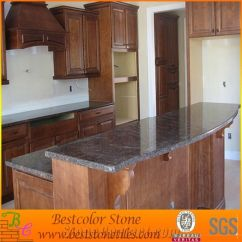 Kitchen Island Tops Outdoor Plans Free Red Granite Stone Design