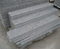 G603 Granite Stairs and Steps, Grey Granite Stairs and ...