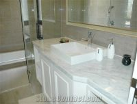 White Marble Bathroom Countertops from China-249882 ...