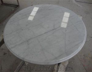 White Marble Table Tops