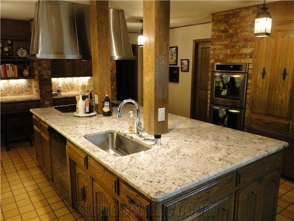 best material for kitchen countertops delta sinks crema persa granite from united states-276768 ...