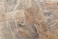 Philadelphia Travertine Tiles Pattern, Brown Travertine ...