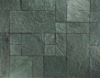 Portofino Green Slate Natural Cleft, Green Slate Flooring ...
