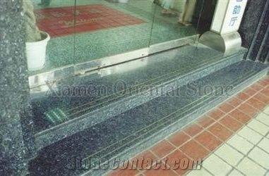 Granite Outdoor Steps Staircase Building Stone Stair Riser | Stone Treads For Outdoor Steps | Marble | Granite | Non Slip | Flagstone | Bluestone Treads