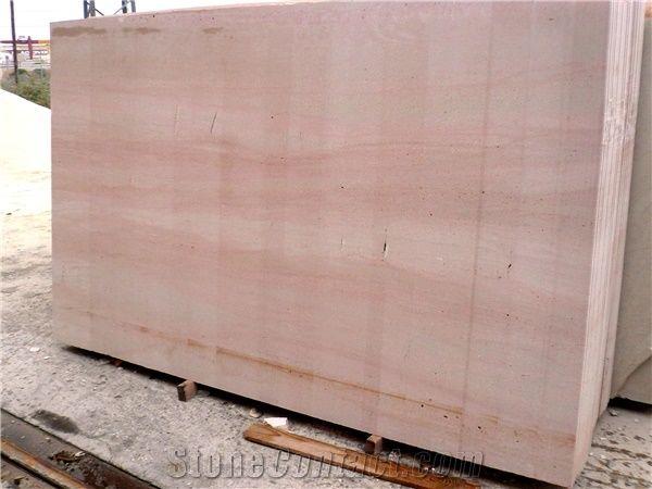 pink travertine spain tiles slabs