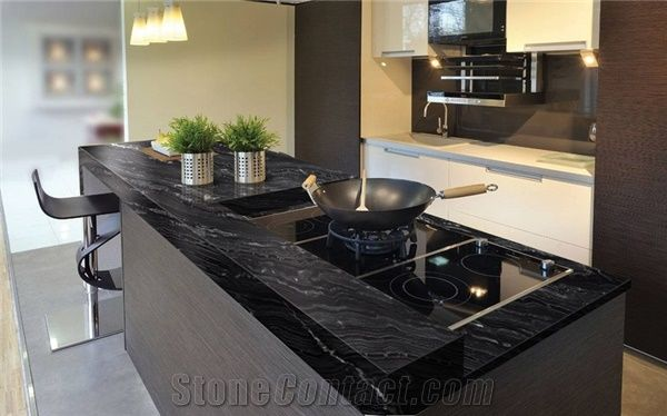 slab kitchen cabinets ninja mega system 1500 recipes agata granite countertop from brazil ...