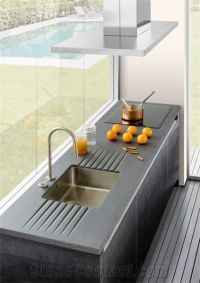 Glazed Lava Stone Kitchen Counter Tops from Greece ...
