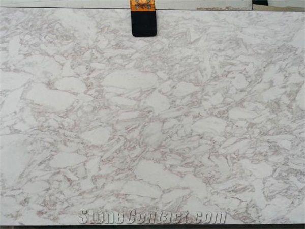 Ovulato Marble 2cm Polished Slabs, Namibia White Marble
