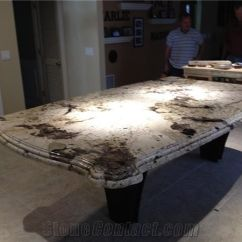 Best Material For Kitchen Countertops Unfinished Cart White Alpine Granite Island Top, Brazil ...